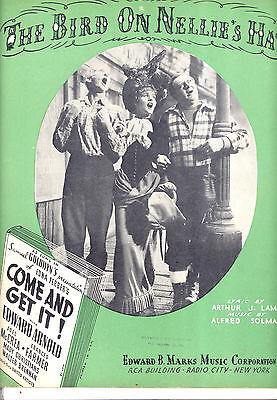 """Noten & Songbooks Offen Come And Get It """" The Vogel Auf Nellie's Hat """" Frances Farmer Edward Gute Begleiter FüR Kinder Sowie Erwachsene"""