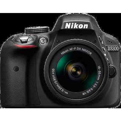 Nikon D3300 with 18-55mm Kit