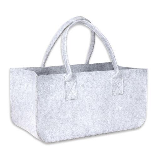 Schramm® Filztasche Kaminholztasche Holzkorb Einkaufstasche Tasche aus Filz in h