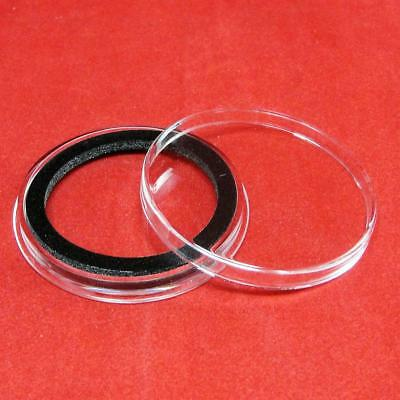 5 Air-Tite X40mm Ring Coin Holder Capsules for Coins Less Than 3.96mm Thick