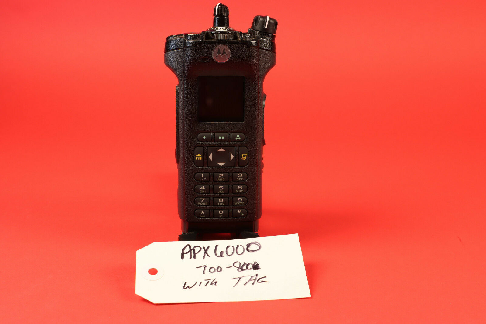 Seller refurbished Motorola APX6000 700/800 Bluetooth AES-256 W/ Tags.