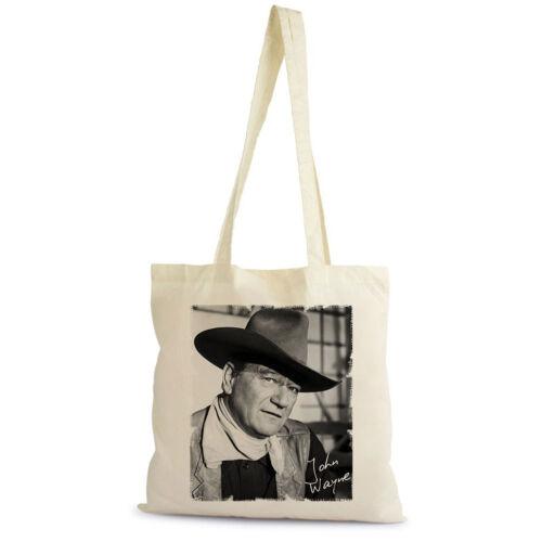 cadeau naturel Shopping Bag coton beige John Wayne Tote Sac shopping