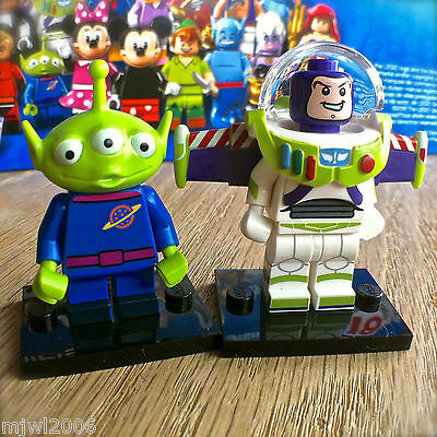 *NEW* LEGO Minifigure Series 1 Disney #3 BUZZ LIGHTYEAR Figure Sealed Foil 71012