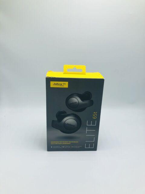 Jabra Elite 65t True Wireless Earbuds Charging Case Titanium Black For Sale Online Ebay