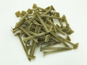 Landscape-Garden-Fabric-Pins-Stakes-50-Pack-Recycled-Plastic-HDPE-Anchors