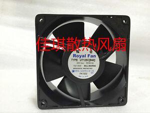 UT125C 14W all-metal fan for Royal Fan 120*120*38mm B40 12038 12cm AC200V 15