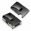 RFID-Blocking-Slim-Carbon-Fiber-Money-Clip-Card-Holder-Metal-Men-039-s-Wallet-Gift thumbnail 1