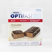 Formula   Optifast® 800 Meal Replacement Bar   Chocolate Bars   6 Boxes