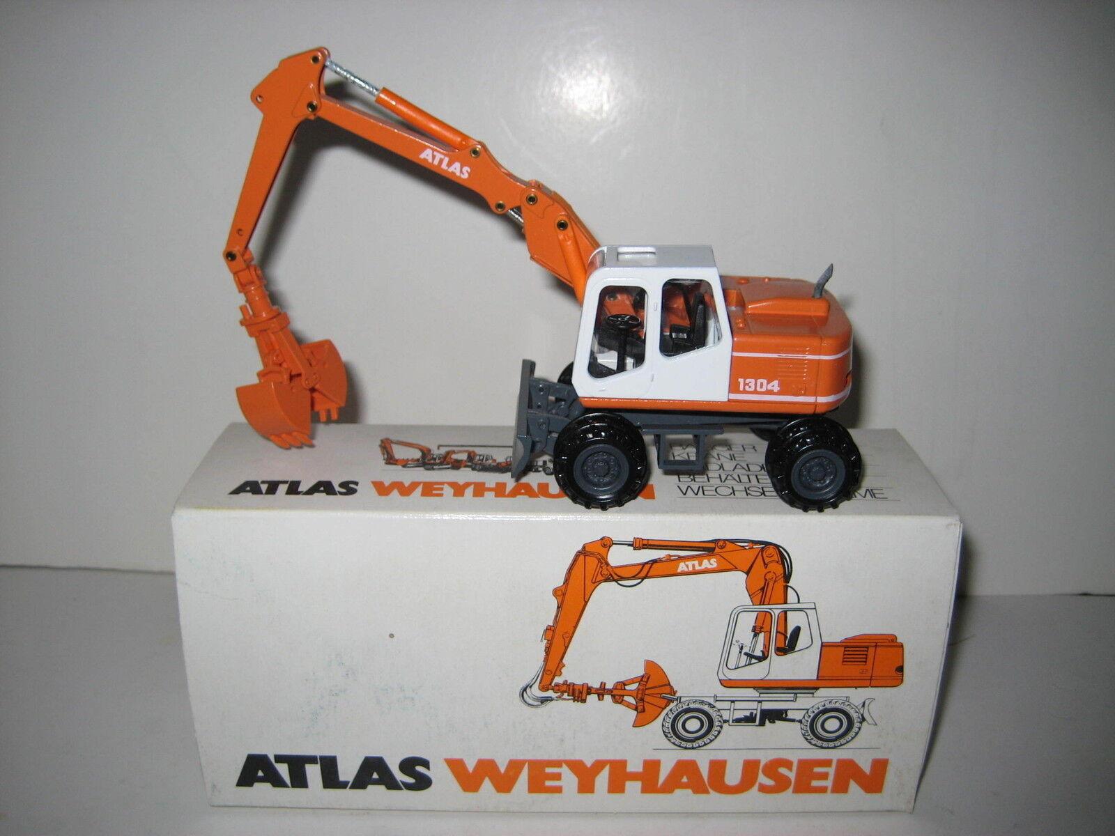 Atlas 1304 Excavateurs Pince  2904.1 CONRAD 1 50 NEUF dans sa boîte