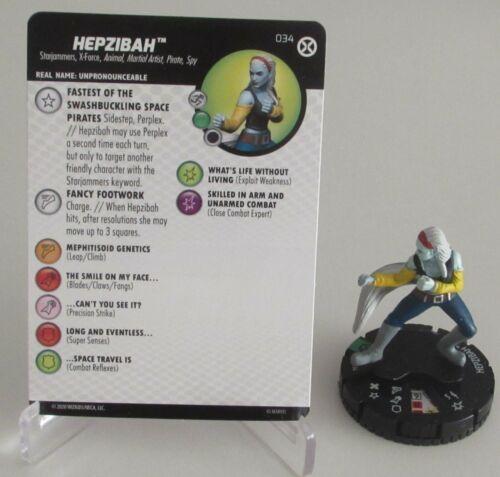 Hepzibah 034 X-Men Maison De X Marvel Heroclix