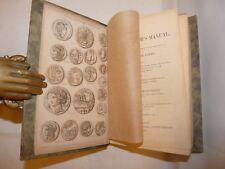 NUMISMATICA - Humphreys: COIN COLLECTOR'S MANUAL vol. 1, 1853 Monete Roma Grecia