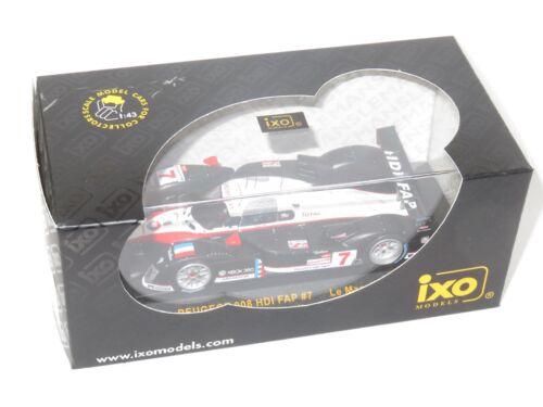 X2 1/43 Peugeot 908 Hdi Fap Le Mans 24 H 2007 Equipe Total # 7 & # 8 4895102310029