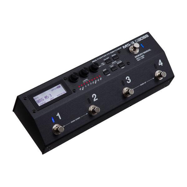 BOSS MS-3   Multi-Effekt-Switcher   Multieffektgerät   Rig-Steuerung   MIDI