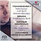 Tchaikovsky: Violin Concerto; Sérénade mélancolique; Bruch: Scottish Fantasy (2005)
