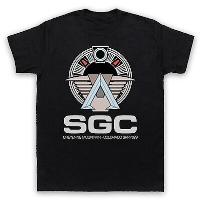 Sgc Stargate Unofficial Star Gate Command T-shirt Mens Ladies Kids Sizes & Cols Husten Heilen Und Auswurf Erleichtern Und Heiserkeit Lindern