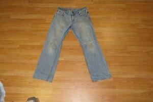 BULLHEAD Men's Jeans Distressed Cotton RN#090233 Size 32 x 32