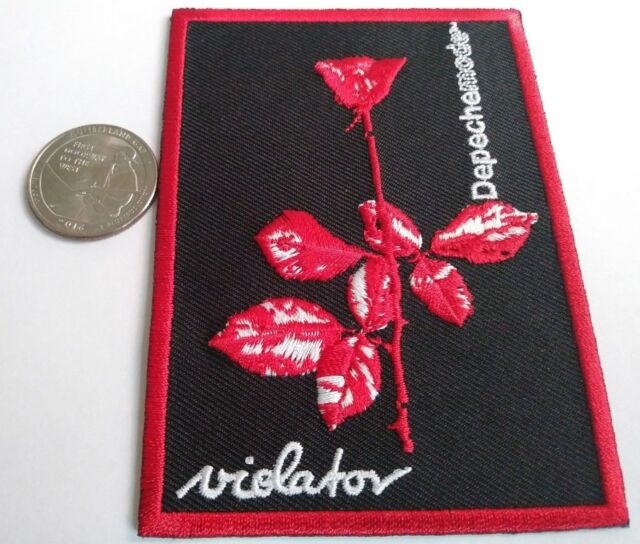 Depeche Mode High Quality Iron On Patch