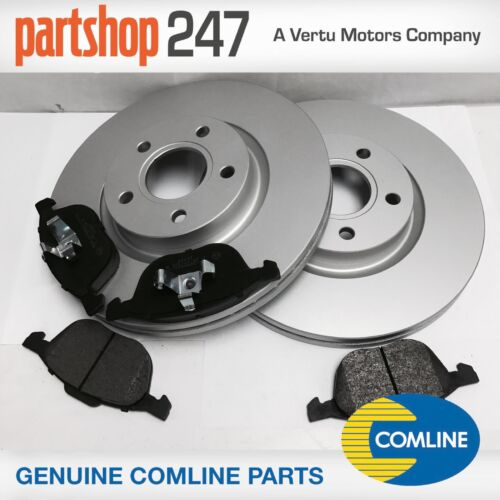 Genuine Comline Ford Kuga MK1 2008-2012 Front Brake Discs /& Pads Kit with 300mm