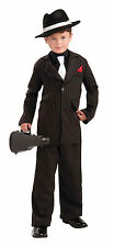 Forum Novelties Littlest Gangster Child Sz S 4-6 Costume New! Free Shipping!