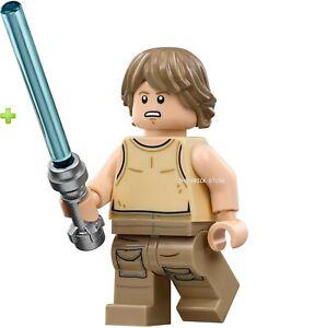 LEGO STAR WARS GIFT DAGOBAH LUKE SKYWALKER FIGURE NEW 75208-2019