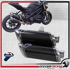 Termignoni Impianto completo Racing 94dB D106 Ducati StreetFighter 848 12>13