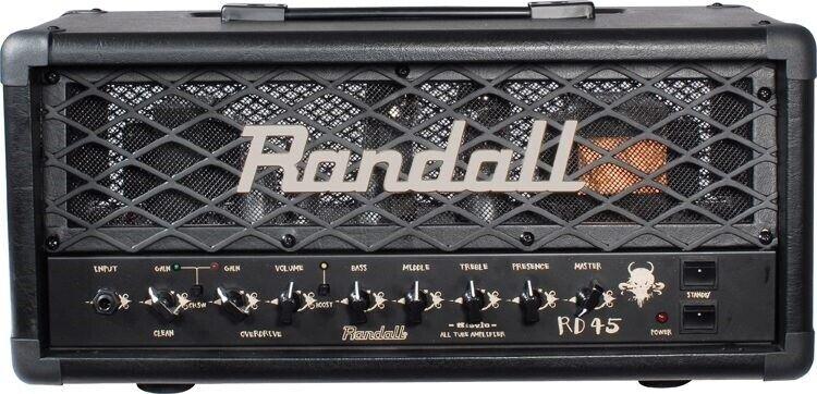 Guitaranlæg, Randall Diavlo RD-45 top & 212 kabinet, 45 W