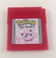 Usa Seller Custom Made Pokémon Pink Version - Nintendo Gameboy Advance Game