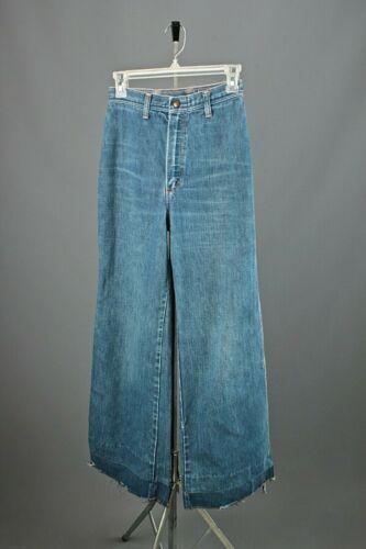 VTG Women's 70s Wrangler Bell Bottoms Jeans Sz 25