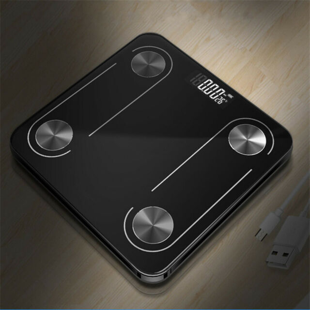 Smart Digital LED Display Body Fat Weight Scale Bluetooth APP Health Monitor