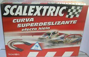 PréCis Scalextric 8812 Kit Curva Super Deslizante Efecto Hielo Completa Assurer IndéFiniment Une Apparence Nouvelle