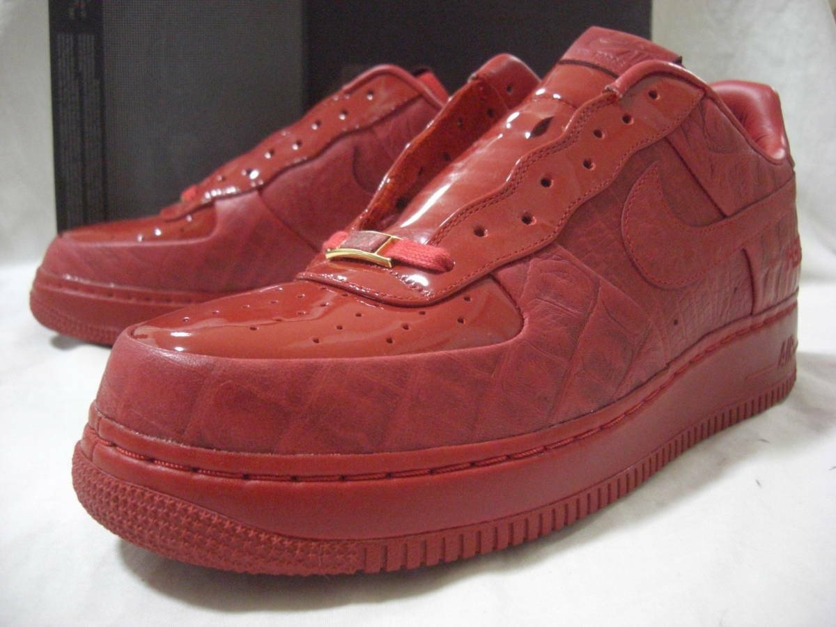 UNUSED DS 2008 PROMO SAMPLE NIKE AIR FORCE 1 SPRM L O 08 HECTIC SHOES US10