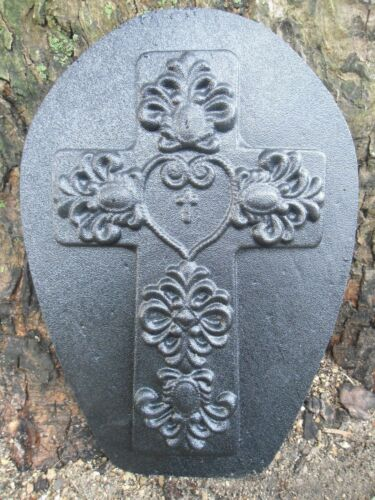 Plaster rapid set cement all abs plastic celtic cross mold