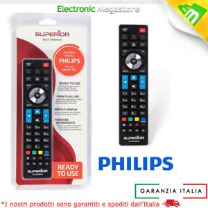 Telecomando universale per tutte le TV PHILIPS Lcd Led Smart TV 3D