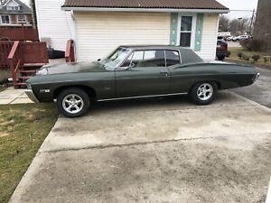 68 impala for sale