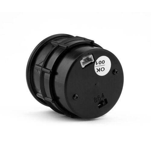 """2/"""" 52mm Digital /& Pointer 7 Color LED Car  0~10 RPM Tacho Tachometer Gauge Meter"""