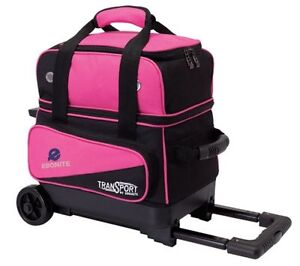 Image Is Loading Ebonite Transport 1 Ball Roller Pink Bowling Bag