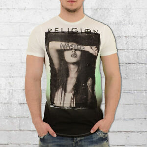 shirt hommes pour Green T hommes White T pour Wasted shirt wA0RqR