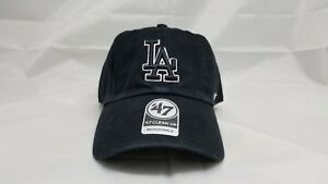 premium selection 54570 d2c70 Image is loading 47-CLEAN-UP-ADJUSTABLE-HAT-MLB-LOS-ANGELES-