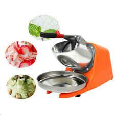 Ice Shaver Machine Snow Cone Maker Home Commercial Use Summer Stainless Steel