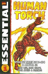 Essential-Human-Torch-Vol-1-by-Jack-Kirby-amp-Dick-Ayers-2003-TPB-Marvel-OOP