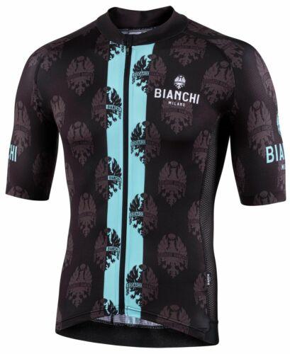 Bianchi Milano RONCACCIO Radtrikot kurzarm schwarz