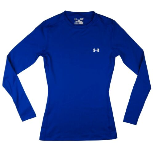 1212171 Small Under Armour Women UA Coldgear Fitted Crew Long Sleeve Baselayer