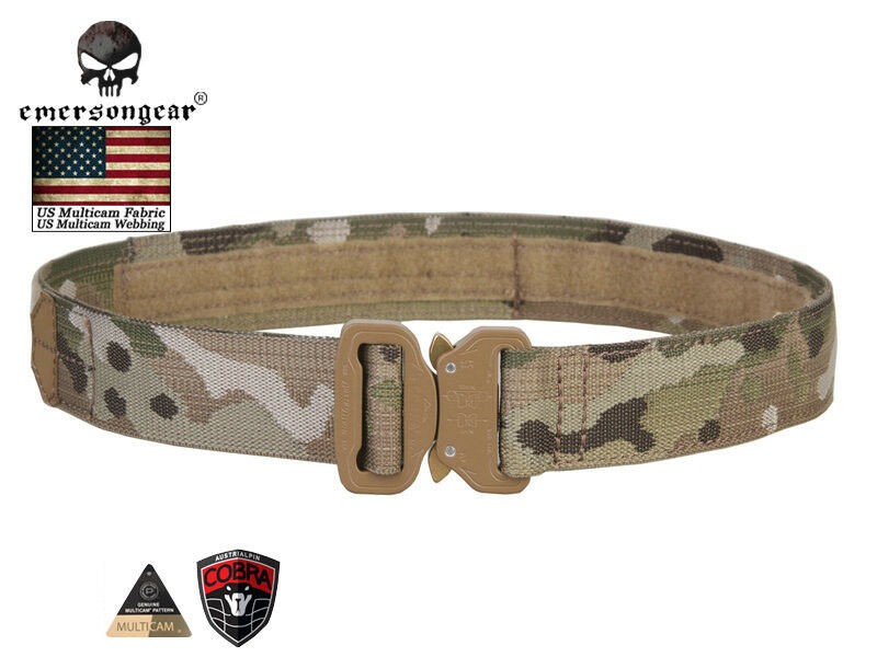 Emerson 1.5 Inch Belt Hook and  Loop Shooter Belt Paintball Airsoft Wargame E9301  store sale outlet