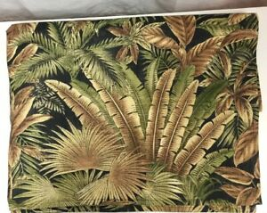 SM05-Tommy-Bahama-Palm-Frond-Tropical-Beach-Leaves-RARE-Indoor-Outdoor-Fabric