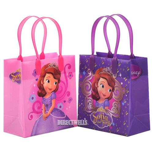 6 Pcs Disney Princess Sofia Authentic Licensed Small Party Favor Goodie Bags