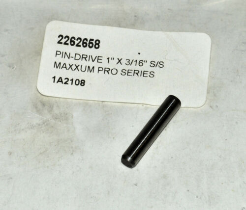 """OEM MinnKota Pin Drive 1/"""" x 3//16/"""" S//S Maxxum Pro Series  Part# 2262658"""