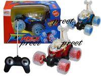 Rc Musical 360 stunt Radio Remote Control Stunt Car Flashing Lights and Music!!