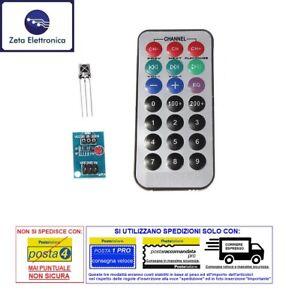 Modulo sensore ricevitore infrarosso KY-022 telecomando 38kHz ricevente diodo