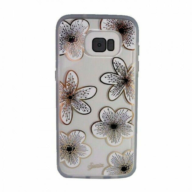 100% authentic 06b61 260b0 Sonix Clear Coat DESIGNER Case for Samsung Galaxy S7 Edge Delphine Floral