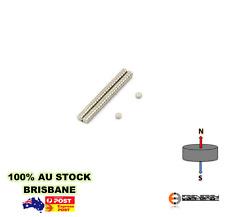 200X Neodymium Rare Earth Disc Magnets 2mm X 1mm N48